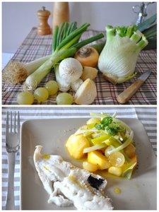 Sauté de légumes blancs