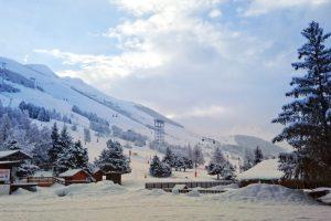 Les 2 Alpes, matin