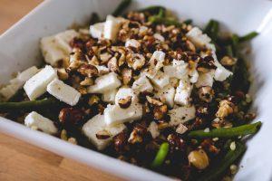 Salade de quinoa et haricots verts au citron