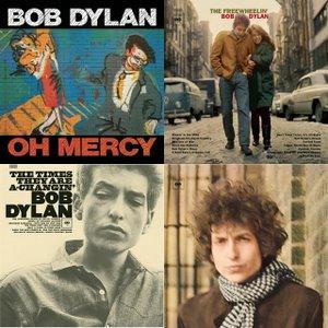 Couvertures d'albums de Bob Dylan