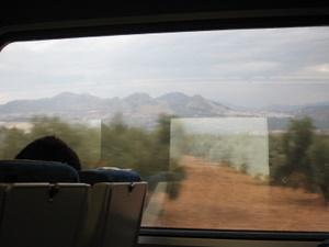 Dans le train Madrid-Grenade