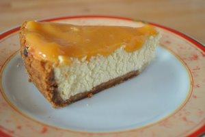 Cheesecake au chocolat blanc - clic pour la recette et plus de photo