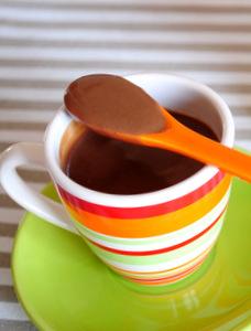Crème chocolat-caramel