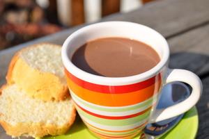 Petite crème chocolat-caramel