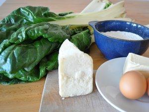 Ingrédients de la tourte