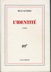 Couverture de L'identité - Milan Kundera