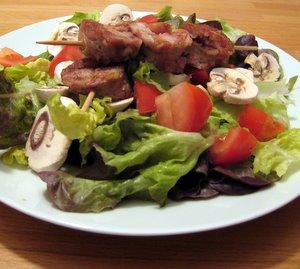 Salade aux andouillettes
