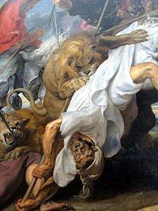 Rubens, la chasse au lion