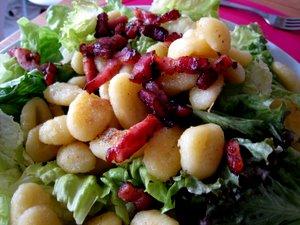 Salade de gnocchi façon Véro