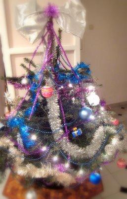 Le sapin de Noël 2007