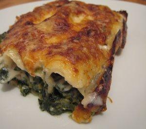 Canelloni épinard / saumon