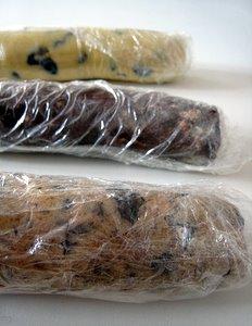 Pâte à cookies roulée pour mise au réfrigérateur