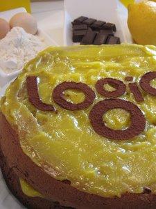 Logicake - gâteau chocolat citron
