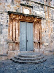 Ile de Hvar - Stari Grad - Une église