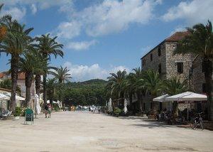 Ile de Hvar - Stari Grad - Une place