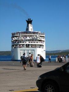Ile de Hvar - Le ferry pour Korcula