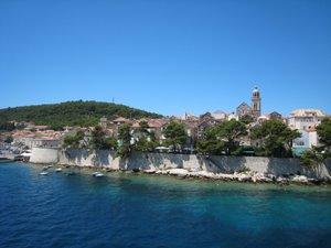 Arrivée à Korčula