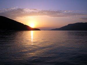 Île de Korcula - Coucher de soleil