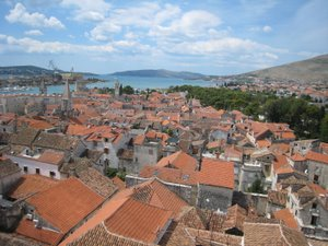 Les toits de Trogir
