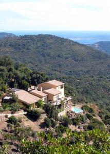 Villa au milieu du massif des Maures