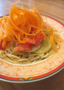 Pâtes aux légumes
