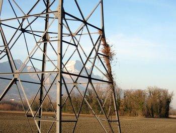 Pylone et dent de Crolles