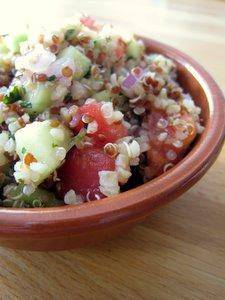 Taboulé quinoa-boulghour