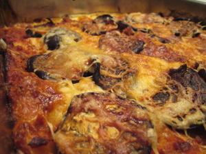 Lasagnes aux aubergine