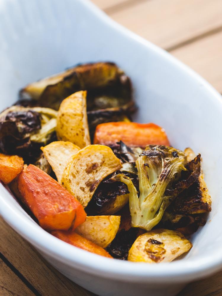 Légumes rôtis au vinaigre balsamique