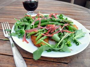Salade d'asperges italiennes - clic pour voir en plus grand