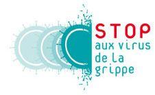 Stop aux virus de la grippe - Logo